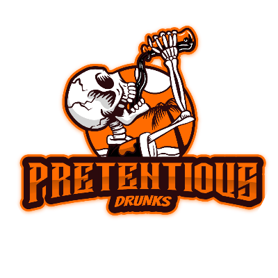 Pretentious Drunks Guild Logo