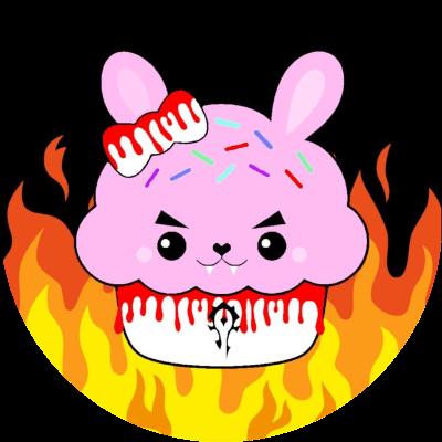 Cupcake Bunnies of Doom Guild Logo