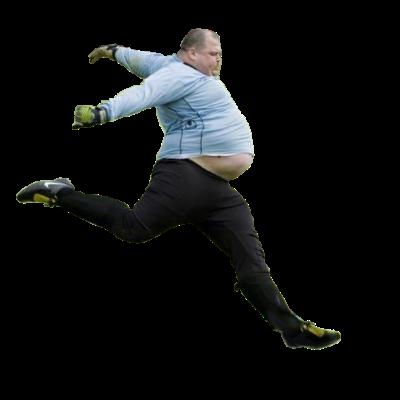 Fat Kids Dont Run Guild Logo