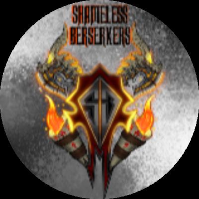 Shameless Berserkers Guild Logo