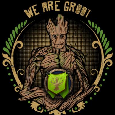 We Are Gròót Guild Logo