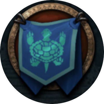Turtle Gang Gang Guild Logo