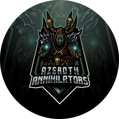 Azeroth Annihilators Guild Logo