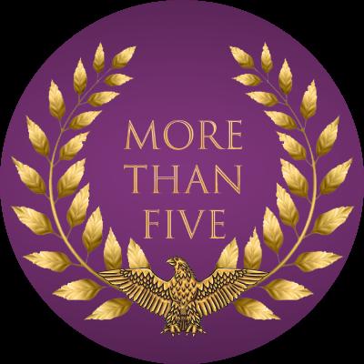 More Than Five Guild Logo