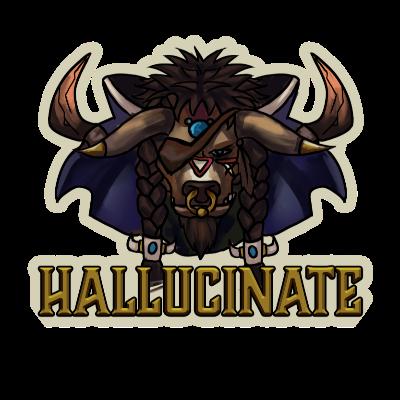 Hallucinate Guild Logo