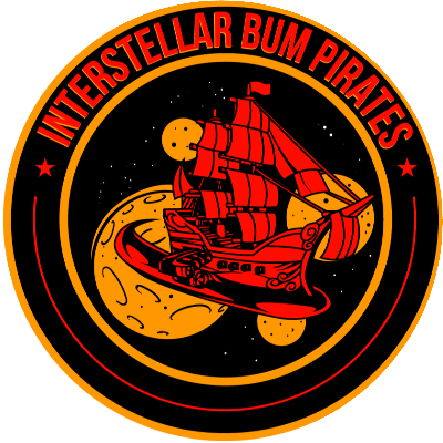 Interstellar Bum Pirates Guild Logo