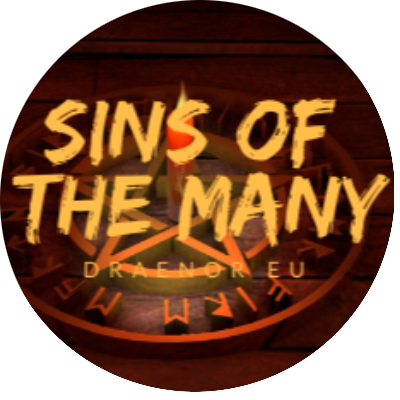 Sins of the Many Guild Logo