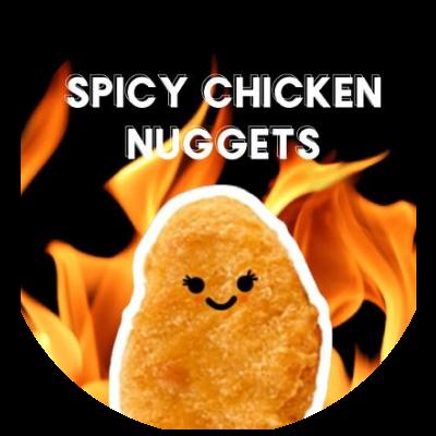 Spicy Chicken Nuggets Guild Logo