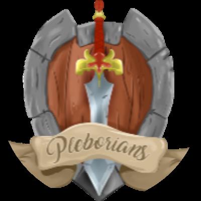 Pleborians Guild Logo