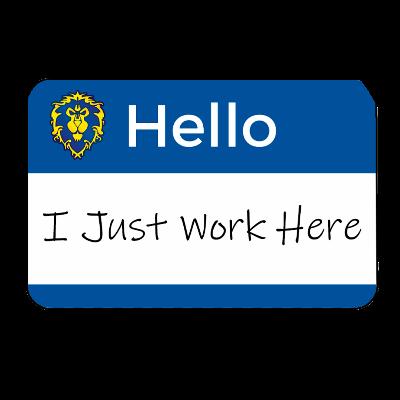 I Just Work Here Guild Logo
